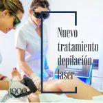 Nuevo tratamiento de depilación láser con luz led
